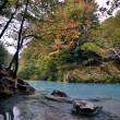 Autum River — Stock Photo
