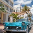 Stock Photo: Miami old car