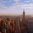 Sunset over manhattan — Stock Photo #9000270