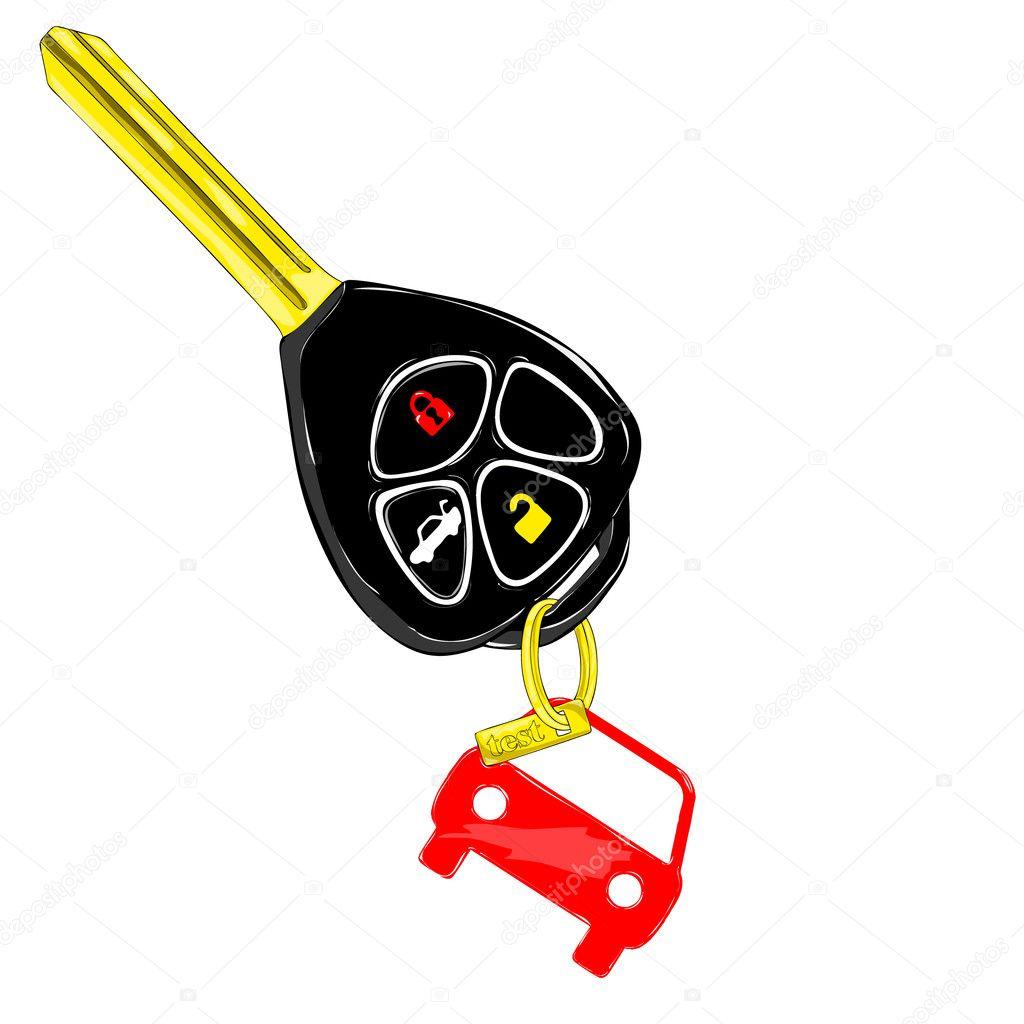 Vector Key Illustration: Stock Vector © Liptonstars2 #8387479