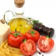 Italian food close up — Stock Photo