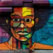 Graffiti art in Harlem, NYC - Stock Photo
