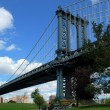 Manhattan Bridge in NYC — Stock Photo