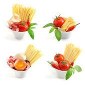 意大利面食集合 — 图库照片