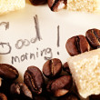 Coffee beans, thank you — Stockfoto