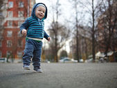 First steps — Stockfoto