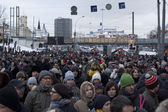 MOSCOW - DECEMBER 24: 120 thousands of protesters. — Stockfoto