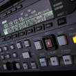 Stock Photo: Close-up of front panel of digibetrecorder