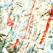 Soyut gazete kirli hasarlı arka plan — Stok fotoğraf