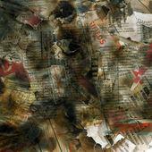 Newspaper texture — Stock Photo