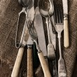 Old cutlery — Stock Photo #8271522