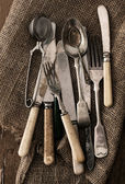 Old cutlery — Stock Photo