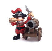 A pirate with a gun — Stock Photo