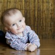 The small cheerful kid — Stock Photo