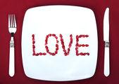 """単語""""love"""" — ストック写真"""