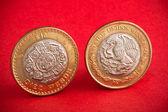 Dvě mince — Stock fotografie