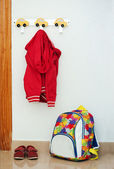 Children's set of red — Stock Photo