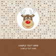 Reindeer — Vector de stock #8004016