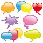 Dialog balloons — Stock Vector #8016072