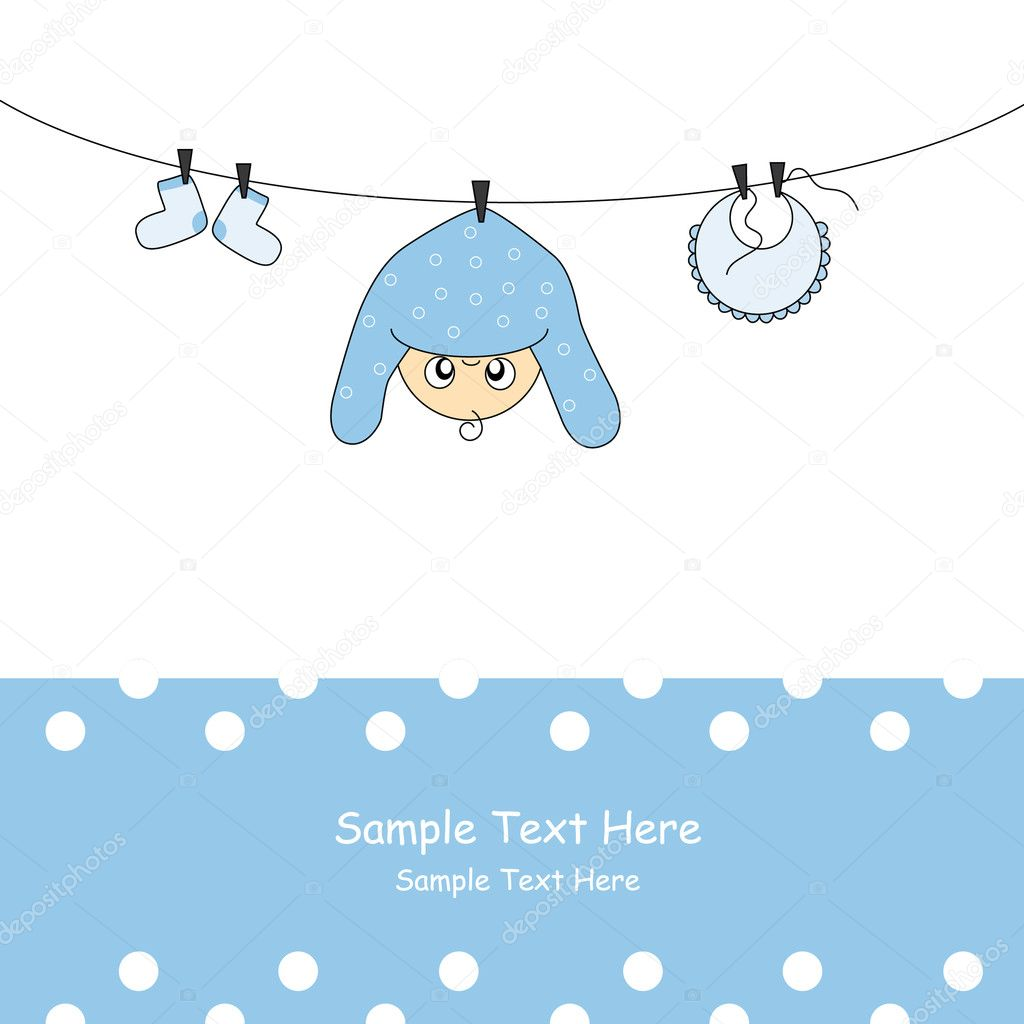 Baby boy arrival card vector by leonart image 600444 vectorstock - Baby Boy Card Stock Vector Sbego 8016059 Wallpaper Gallery Vector Baby Boy