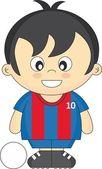Piłka nożna dla dzieci — Wektor stockowy