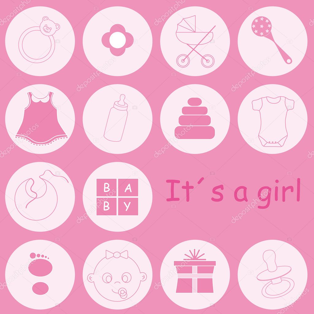 ... baby icons baby girl footprints baby boy icons baby girl clip art cute