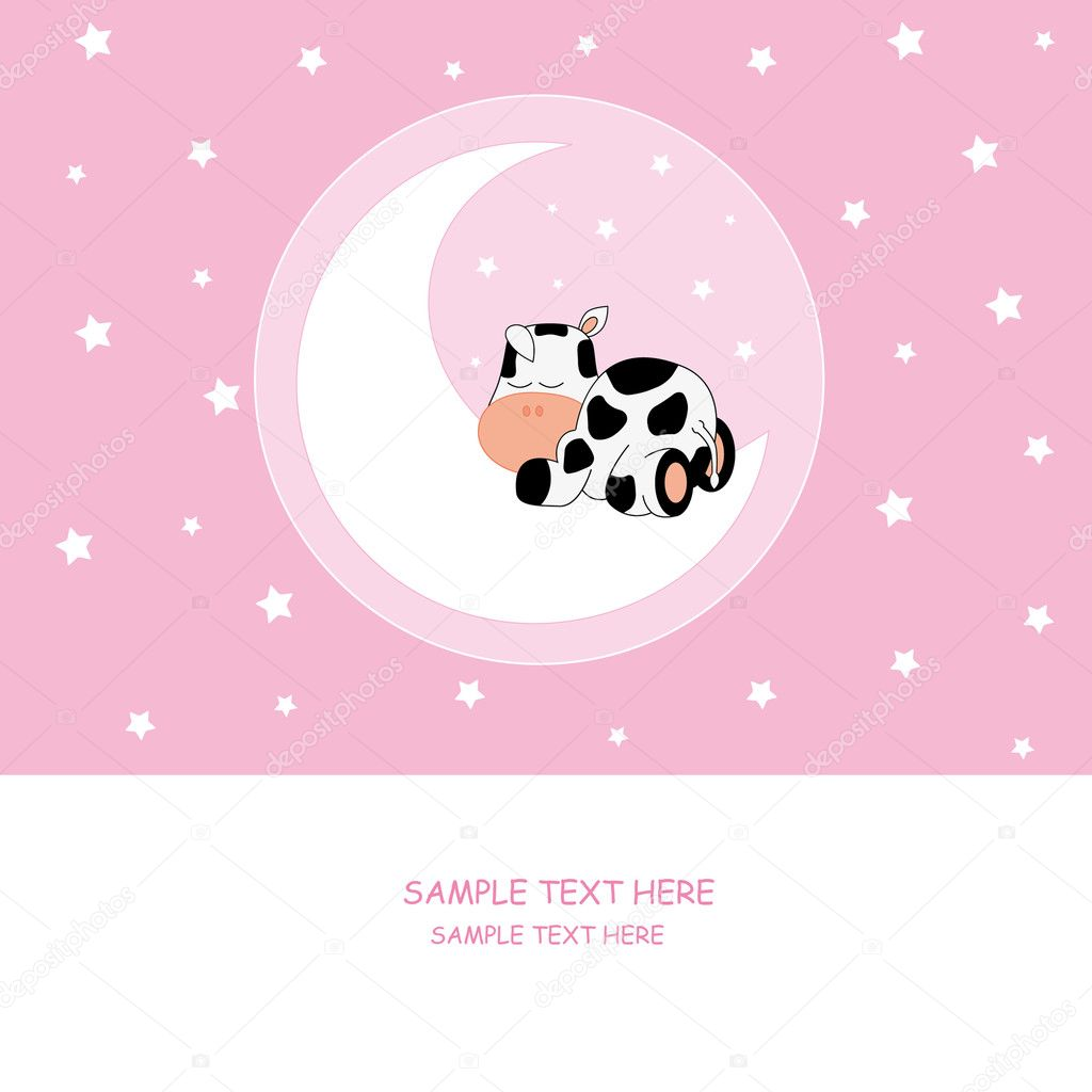Baby girl arrival announcement card Vector sbego 8786051 – Announcement of Baby Girl