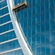 Glass wall of office building — Stock Photo #10204534
