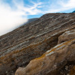Volcano Ijen crater — Stock Photo