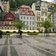 Rain in Karlovy Vary — Stock Photo #8645805