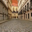 Paving street in Vienna — Stock Photo #8645827