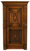 Wooden door — Стоковое фото