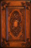 Door carving — Foto de Stock