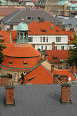 The roofs of Prague — Stock Photo