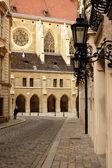 Paving street in Vienna — Stock Photo