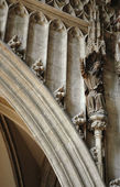 Architecture detail. St Stephens Cathedral. Vienna — Stock Photo