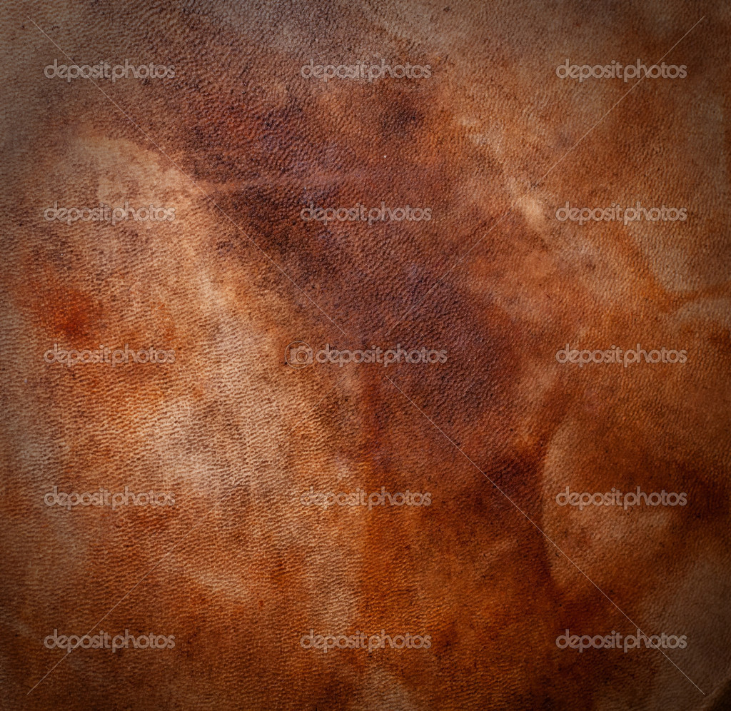 Natural qualitative leather with stains. Texture. Closeup — Stock Photo #8644872