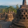 Borobudur Temple, Central Java, Indonesia — Foto Stock