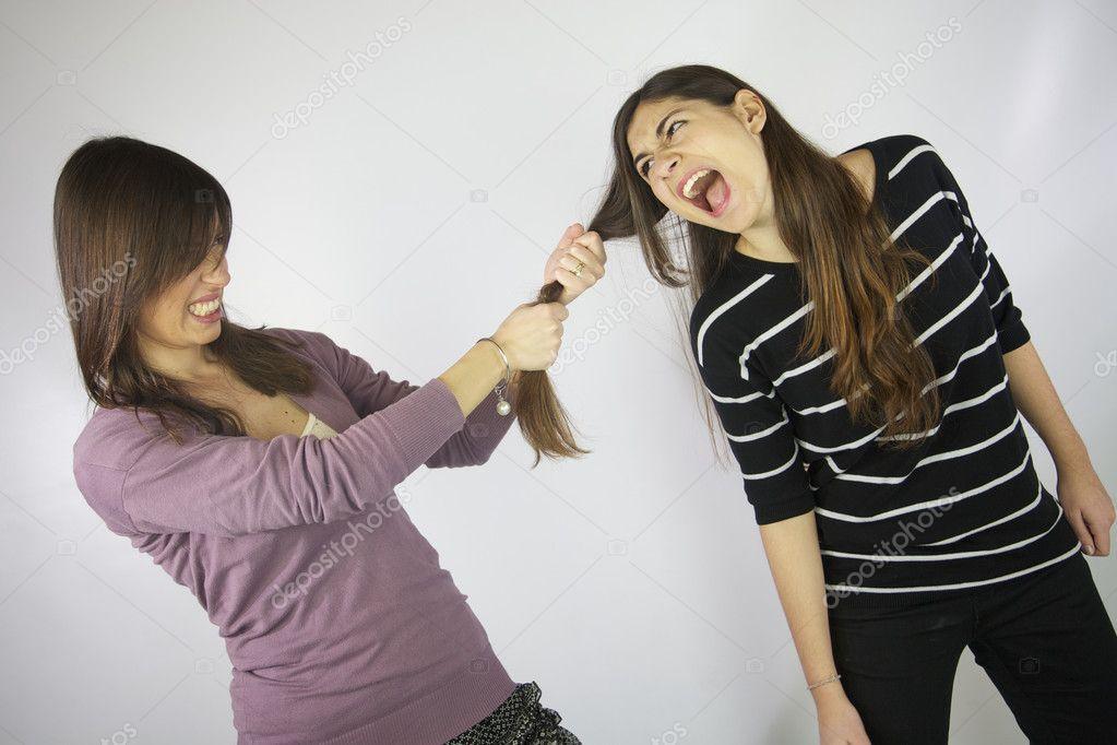Puxando o cabelo da gostosa 5