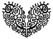 Heart illustration. — Stock Vector