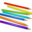 Colored Pencils 2 — Stock Photo
