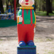 Figurine of a clown — Foto Stock