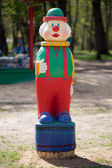 Figurine of a clown — Stock Photo