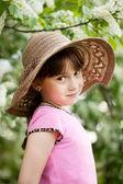 Portrait de la petite coquette — Photo