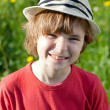 Stock Photo: Boy in hat