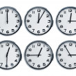 Stock Photo: Wall clocks