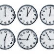 Wall clocks — Stock Photo #10693434