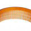 Plastic comb hair with wavy teeth - Stock Photo