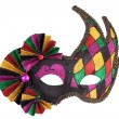 Colorful original festive carnival mask — Stock Photo #7987267
