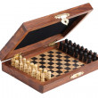 Pocket chess - Stockfoto